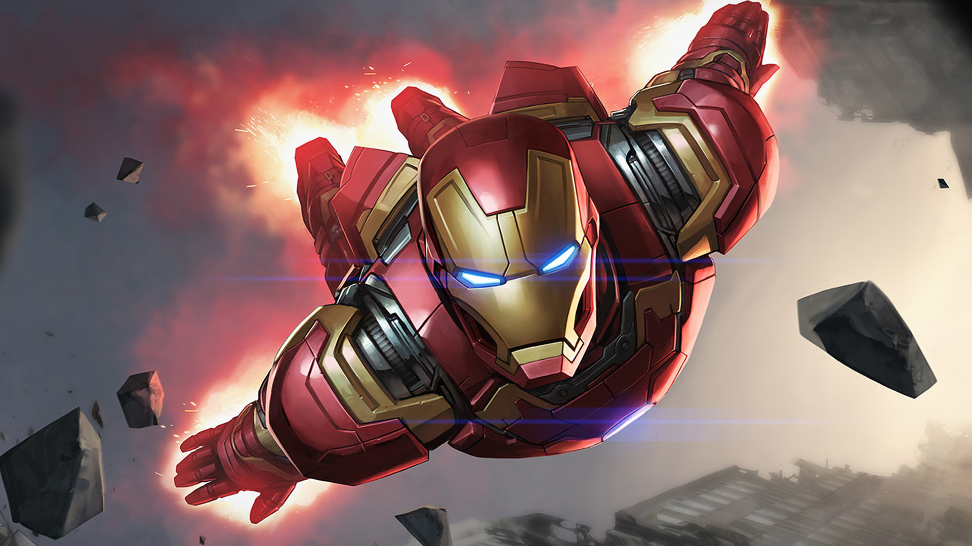 Tony Stark Hd Wallpapers I Love Papers Az69 Ironman Hero Marvel Illustration Art