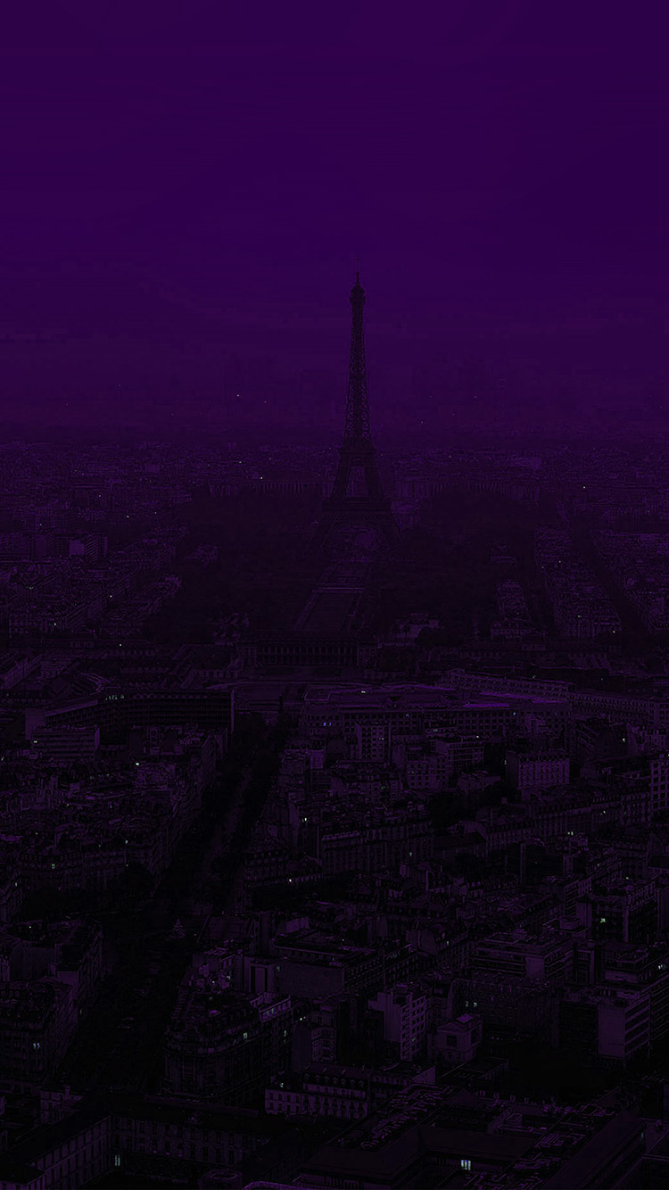 Wallpaper Paris Iphone Papers Co Iphone Wallpaper Bb43 Paris Dark Purple City