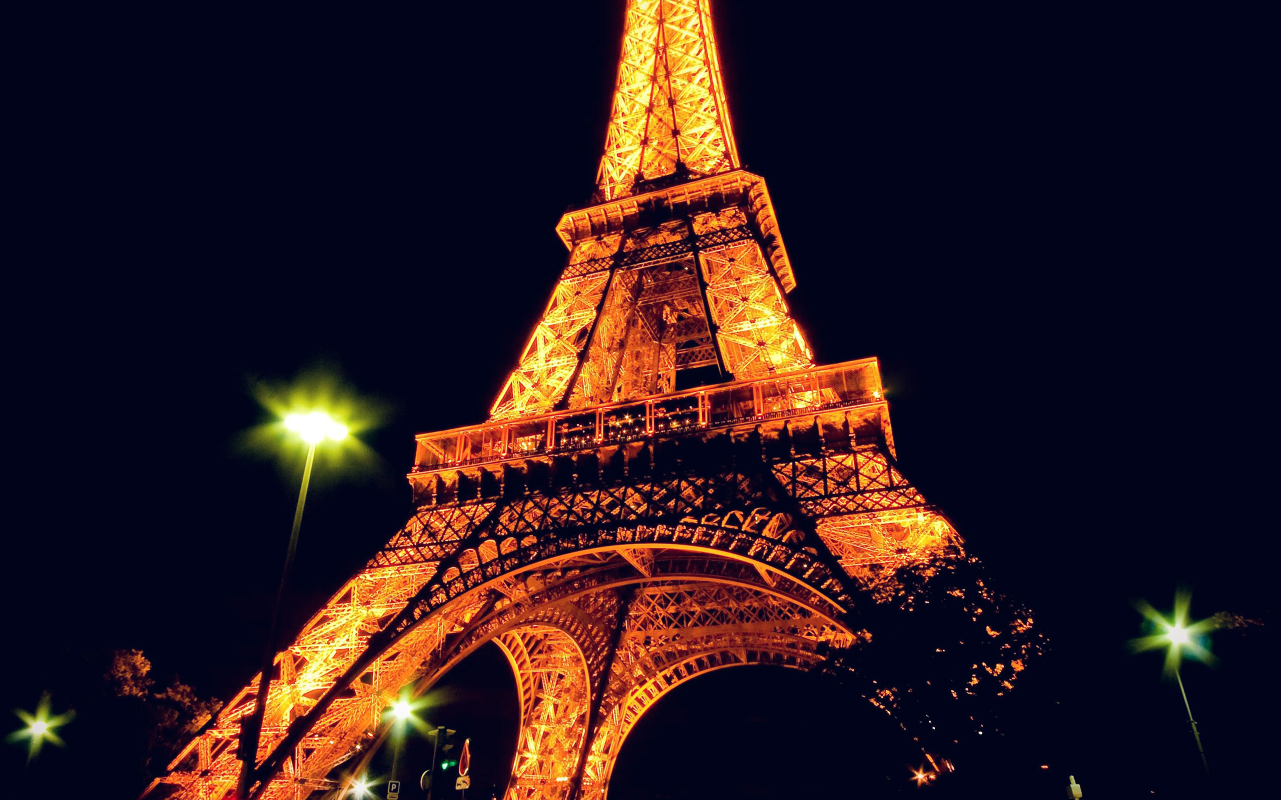 Art Paris Bc23 Eiffel Tower Paris Night Art Illustration Wallpaper