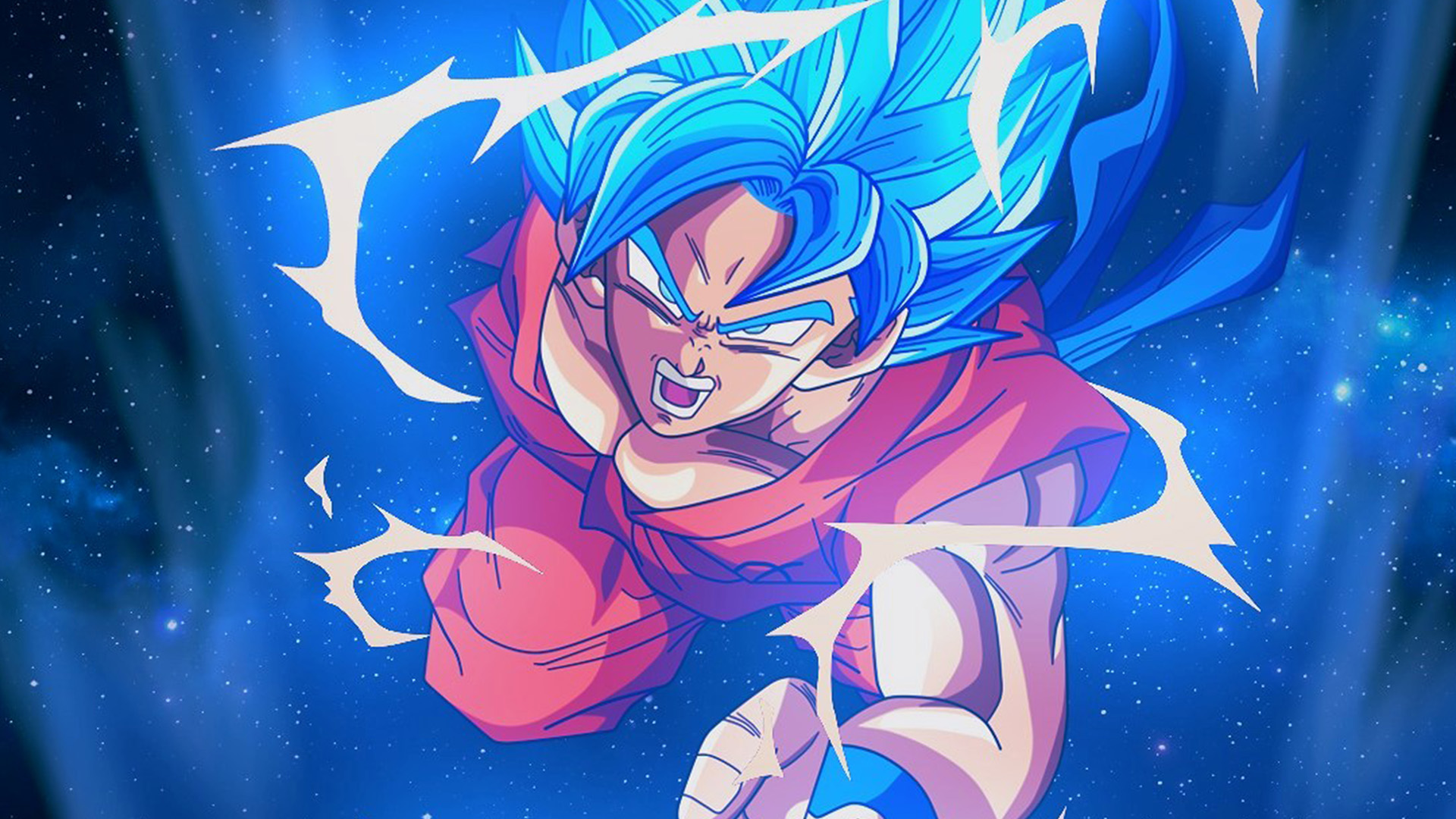 Fall Disney Iphone Wallpaper Bc54 Dragonball Goku Blue Art Illustration Anime Wallpaper