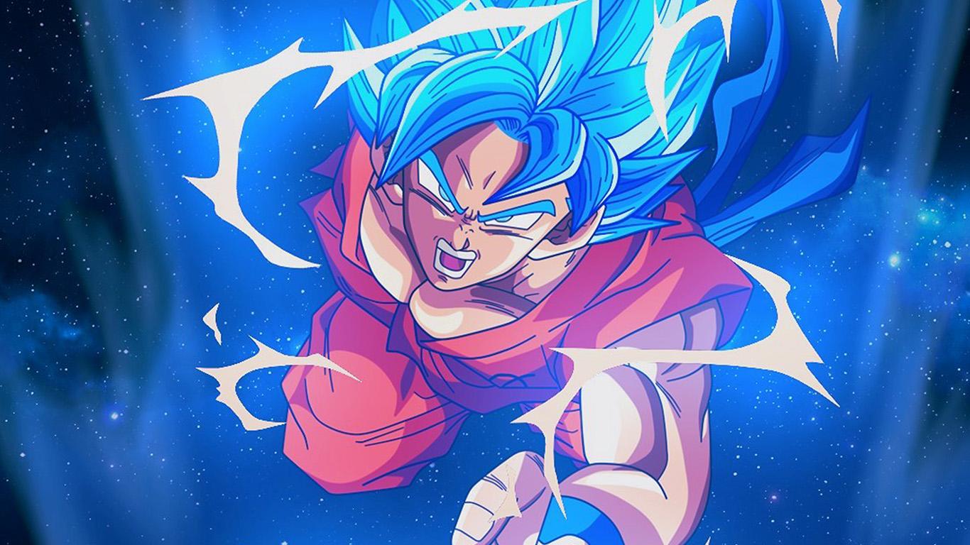 1080p Girl Wallpaper Bc54 Dragonball Goku Blue Art Illustration Anime Wallpaper