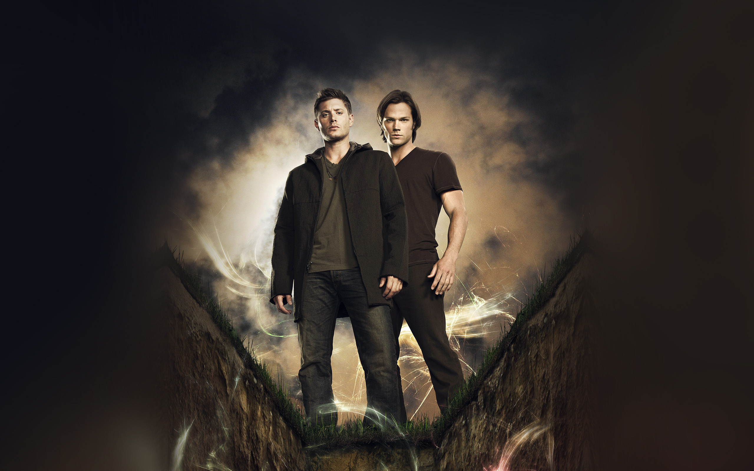 Very Very Cute Wallpapers Bc80 Supernatural Film Tvshow Art Illustration Wallpaper