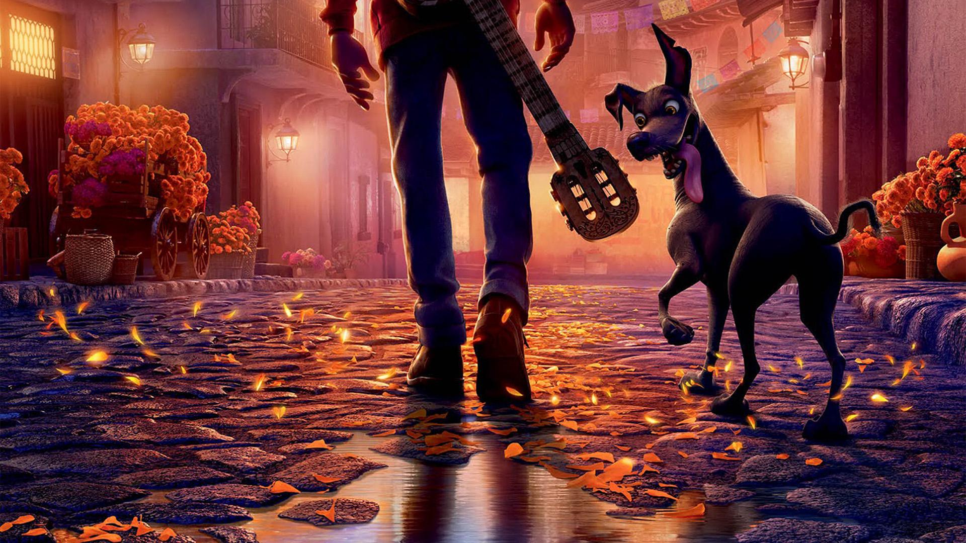 4k Fall Mountain Wallpaper Bd50 Disney Pixar Coco Filme Anime Art Illustration Wallpaper