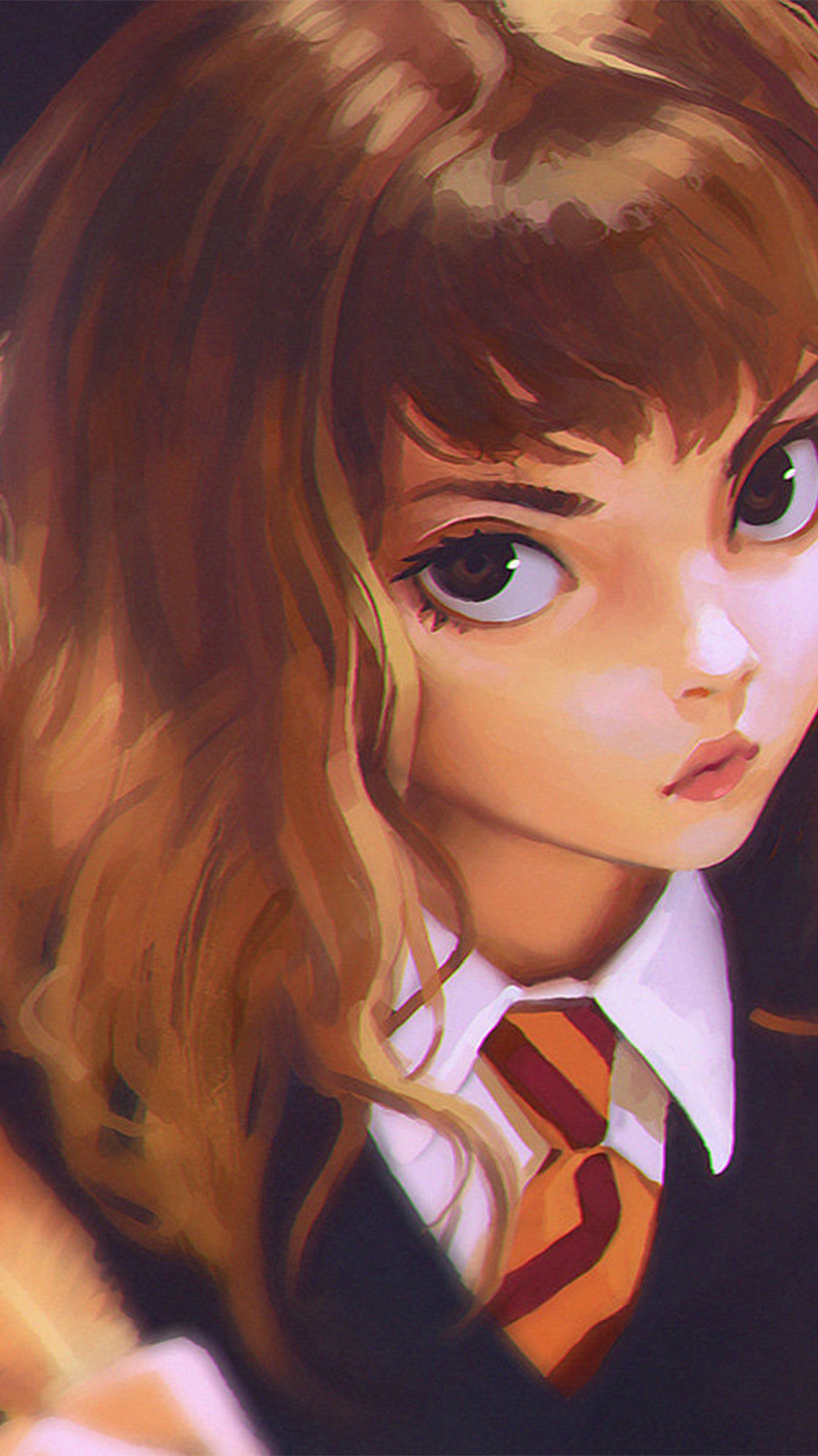 Samsung Car Wallpaper Bd65 Hermione Harry Potter Liya Art Illustration Wallpaper