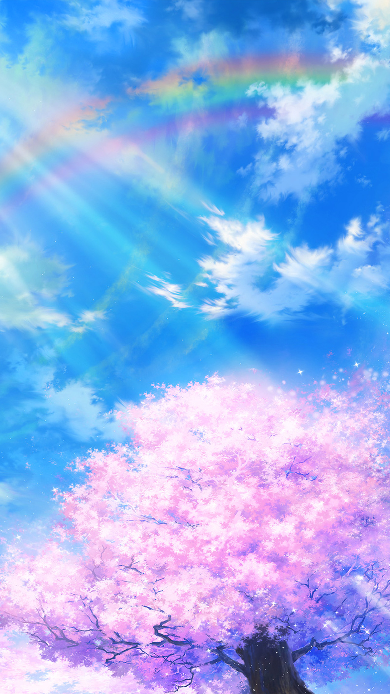 Sky Anime I Love Papers Bd75 Anime Sky Cloud Spring Art Illustration