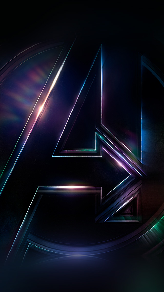 Google Desktop Wallpaper Hd Be49 Avengers Logo Dark Film Art Illustration Marvel Wallpaper