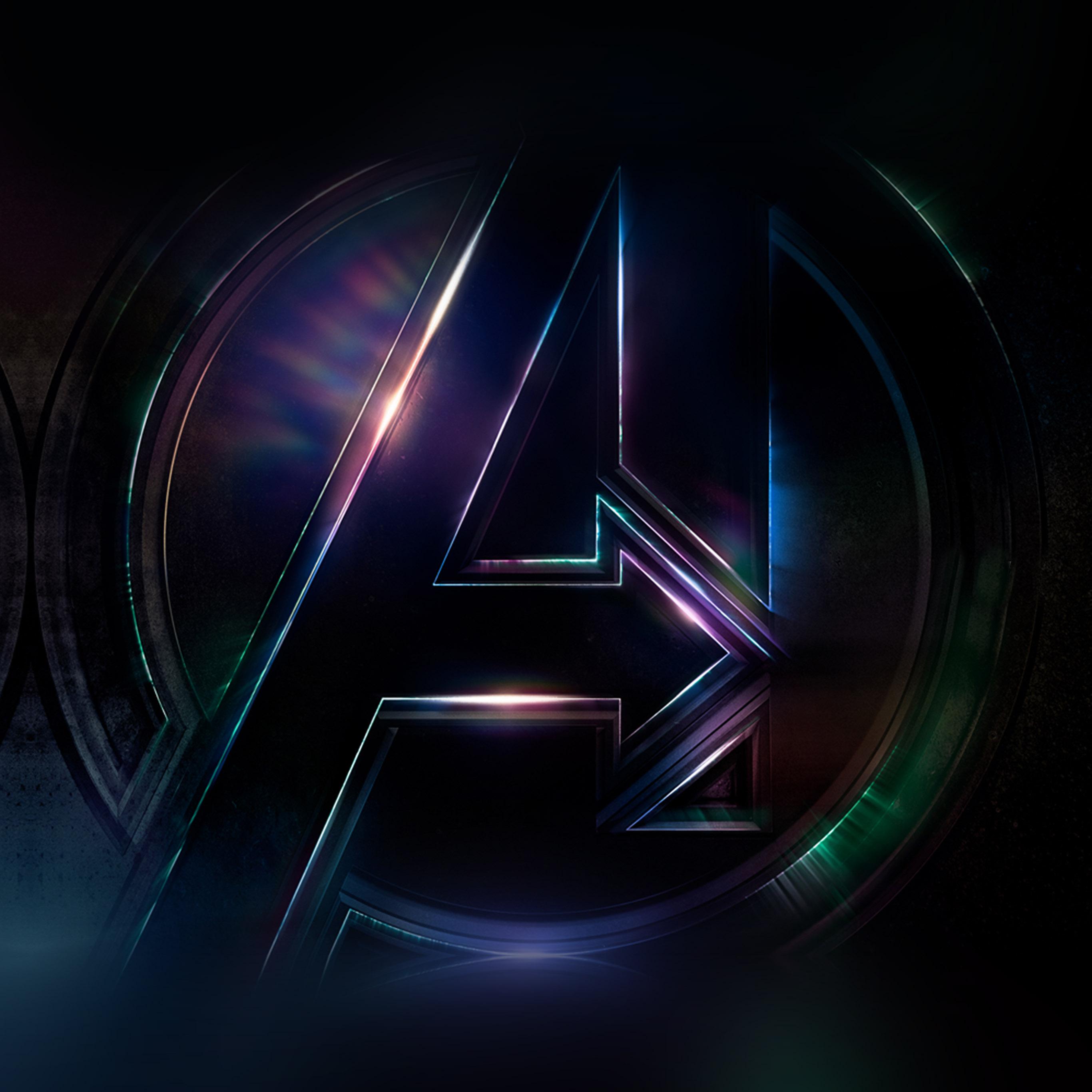 Marvel Iphone Wallpaper Be49 Avengers Logo Dark Film Art Illustration Marvel Wallpaper