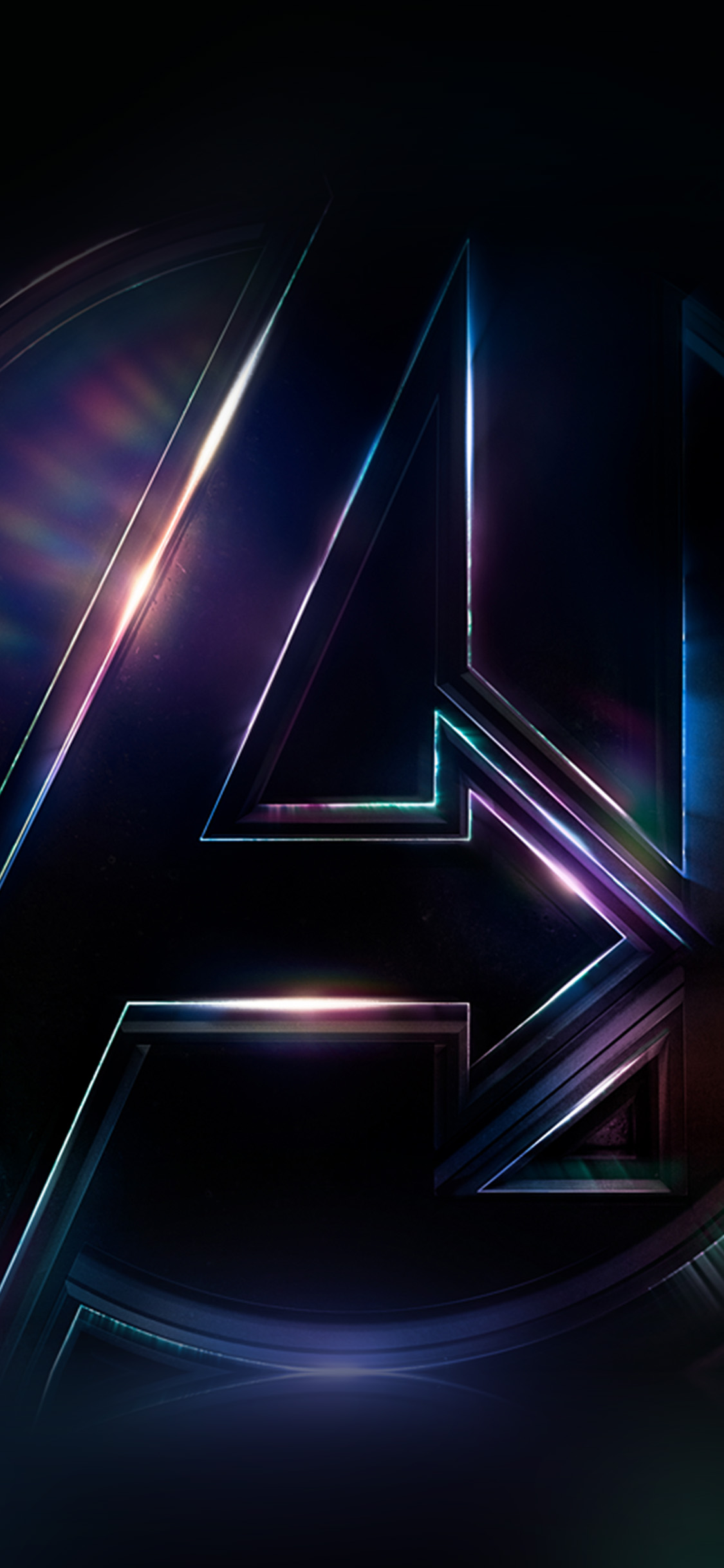 Anime Wallpaper Iphone 7 Plus Be49 Avengers Logo Dark Film Art Illustration Marvel Wallpaper