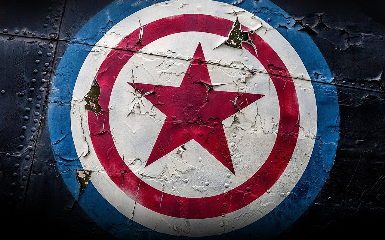 Classic Car Wallpaper Iphone Be60 Captain America Marvel Hero Disney Art Illustration