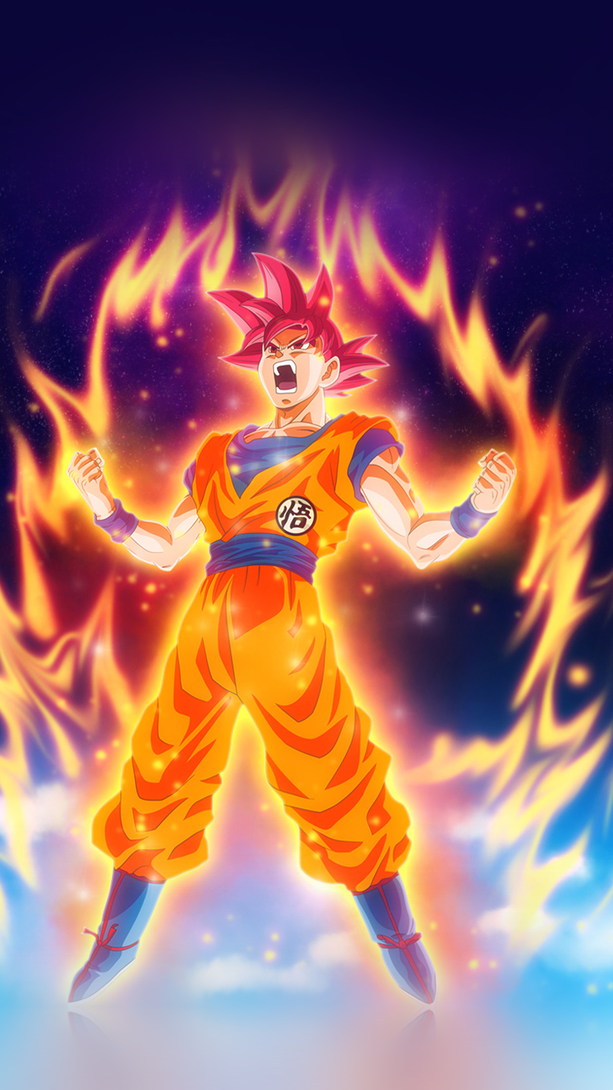 Car Fire Wallpaper Be62 Dragon Ball Fire Art Illustration Hero Anime Wallpaper