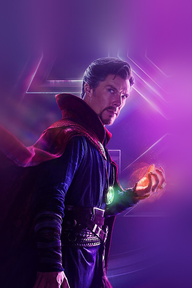 Samsung Galaxy Wallpaper Hd Be93 Avengers Doctor Strange Film Infinitywar Marvel Hero