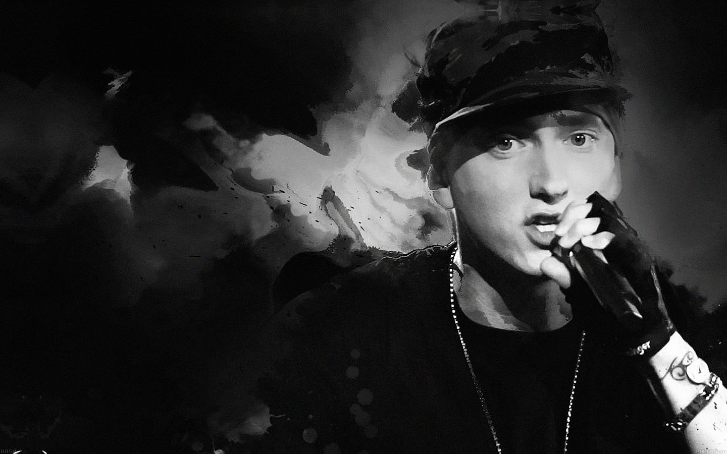 Lg Optimus Wallpaper Hd Ha50 Wallpaper Eminem Music Face Papers Co