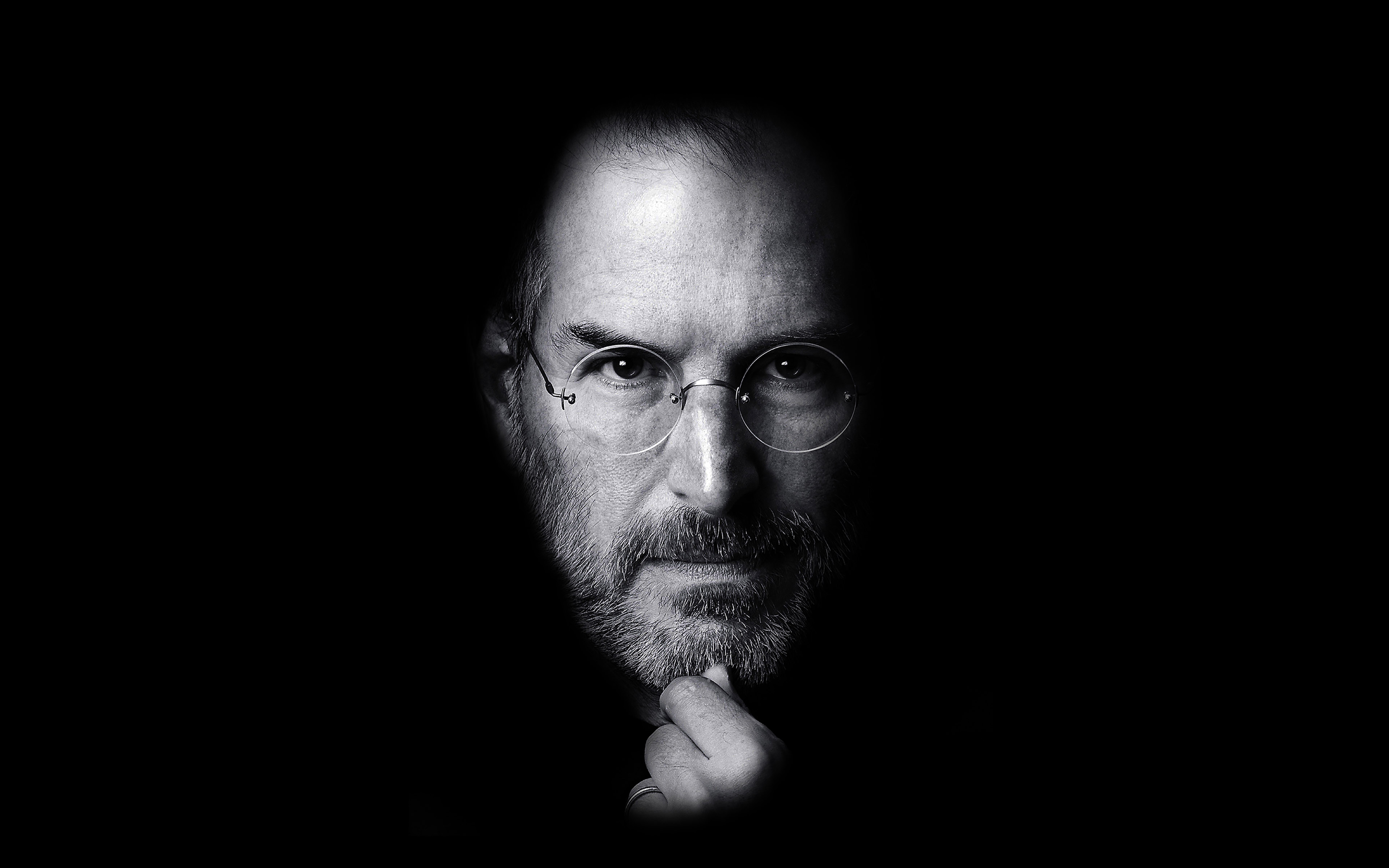 City Fall Desktop Wallpapers Ha87 Wallpaper Steve Jobs Face Apple Papers Co