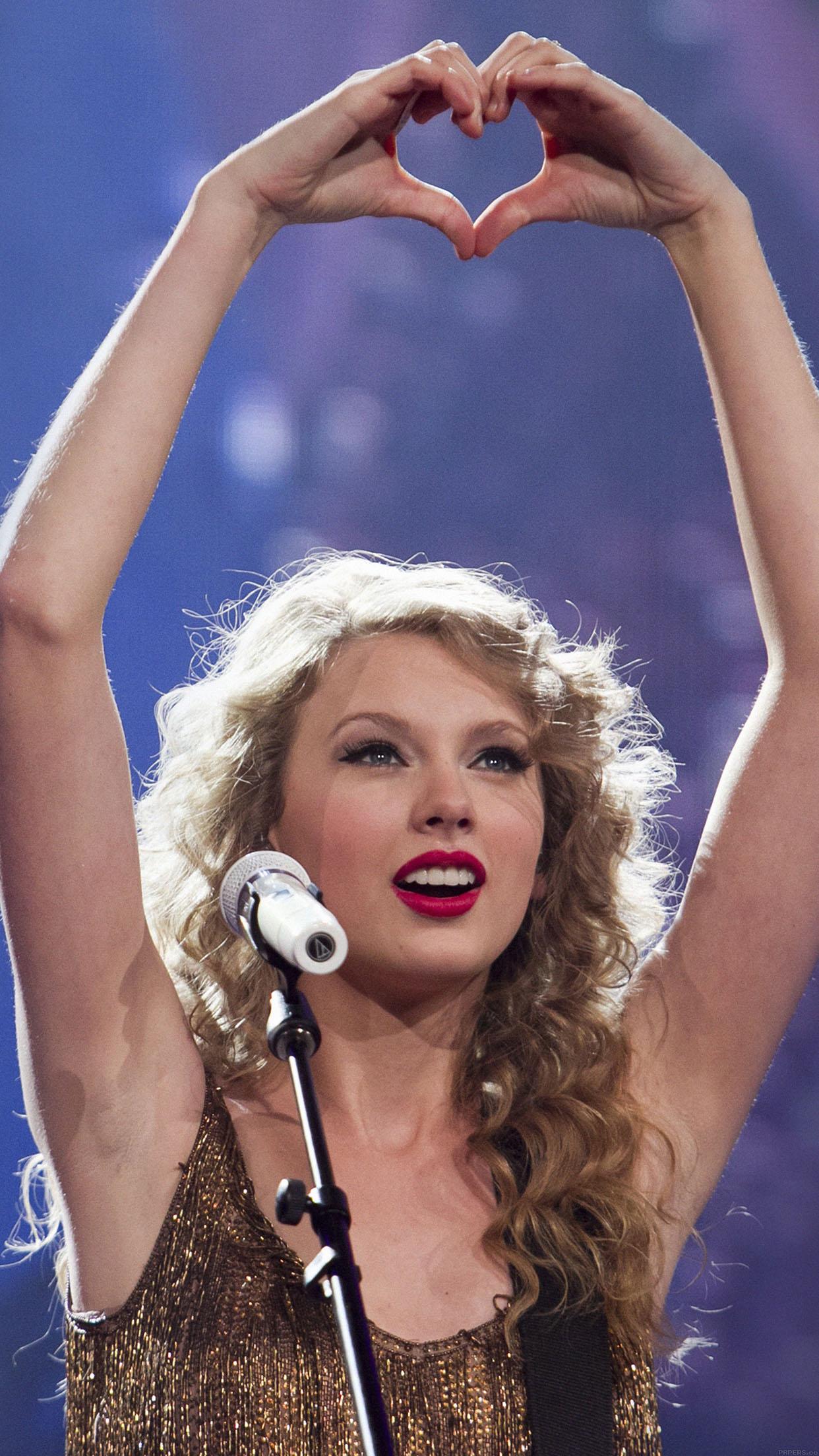 Apple Car Wallpaper Ha98 Wallpaper Taylor Swift Love Concert Music Girl Face