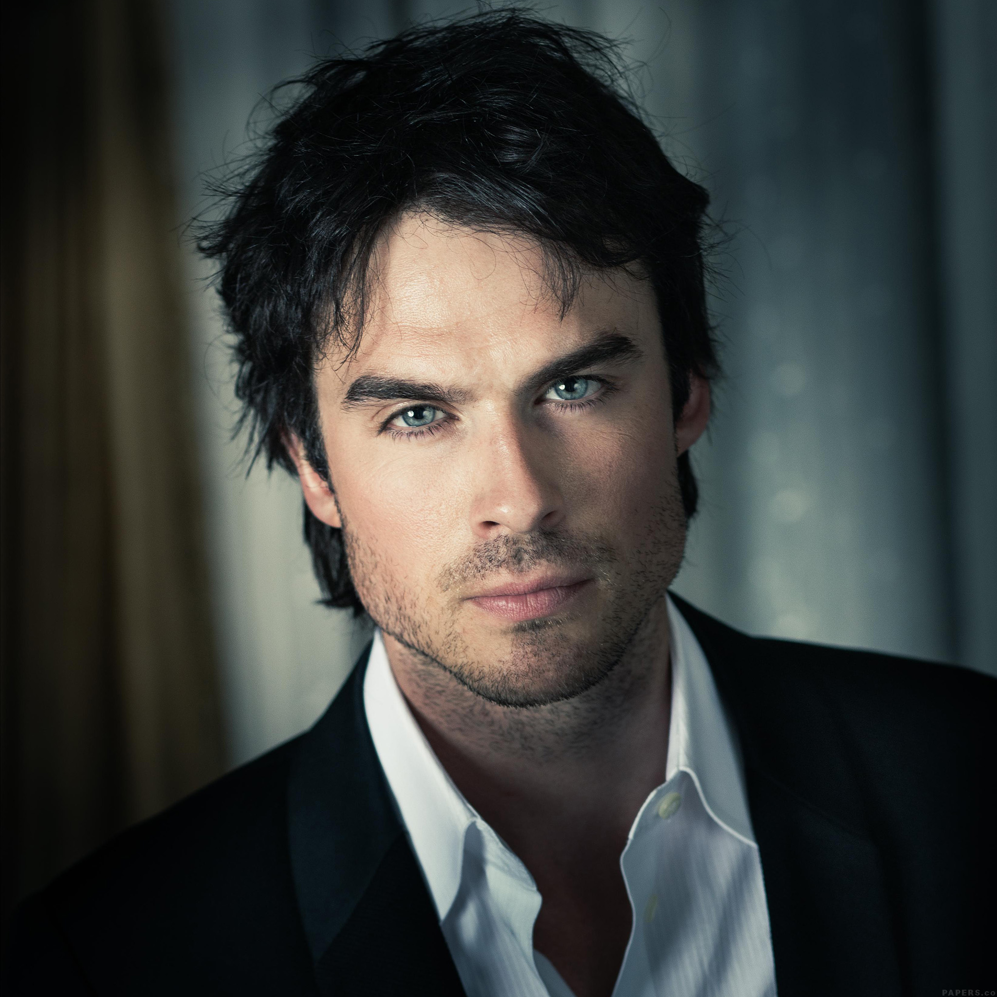 Dark Wallpapers For Iphone X He05 Ian Somerhalder Actor Model Celebrity