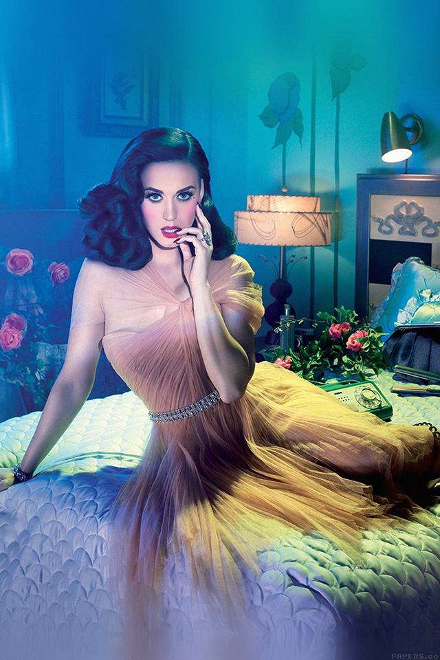 Girl Night Wallpaper He46 Katy Perry Pin Up Girl Music Sexy Artist Papers Co