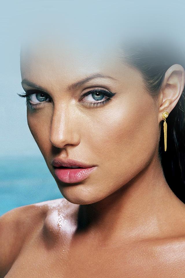 Imac Girl Wallpaper Hg00 Sexy Angelina Jolie Starring Bikini Papers Co