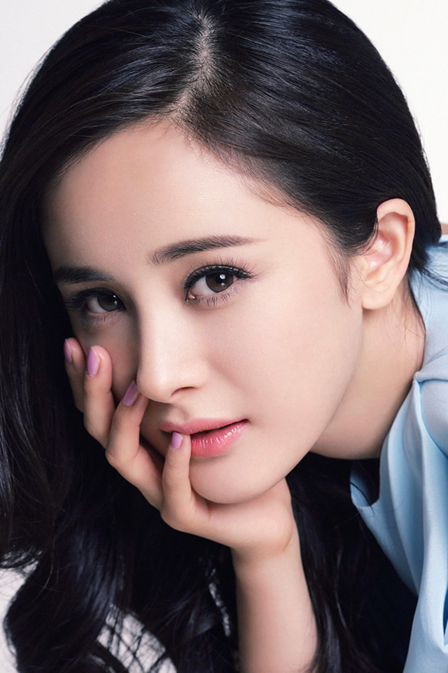 Cute Butterfly Wallpaper Desktop Hg12 Yang Mi Chinese Star Beauty Film Papers Co