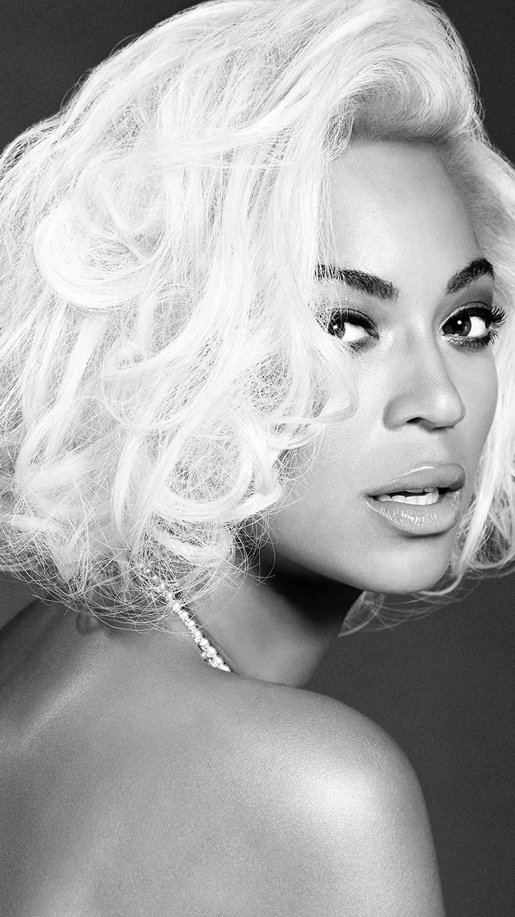 Hd Car Wallpaper For Iphone 6 Hg86 Beyonce Knowles Music Dark Bw Singer Papers Co