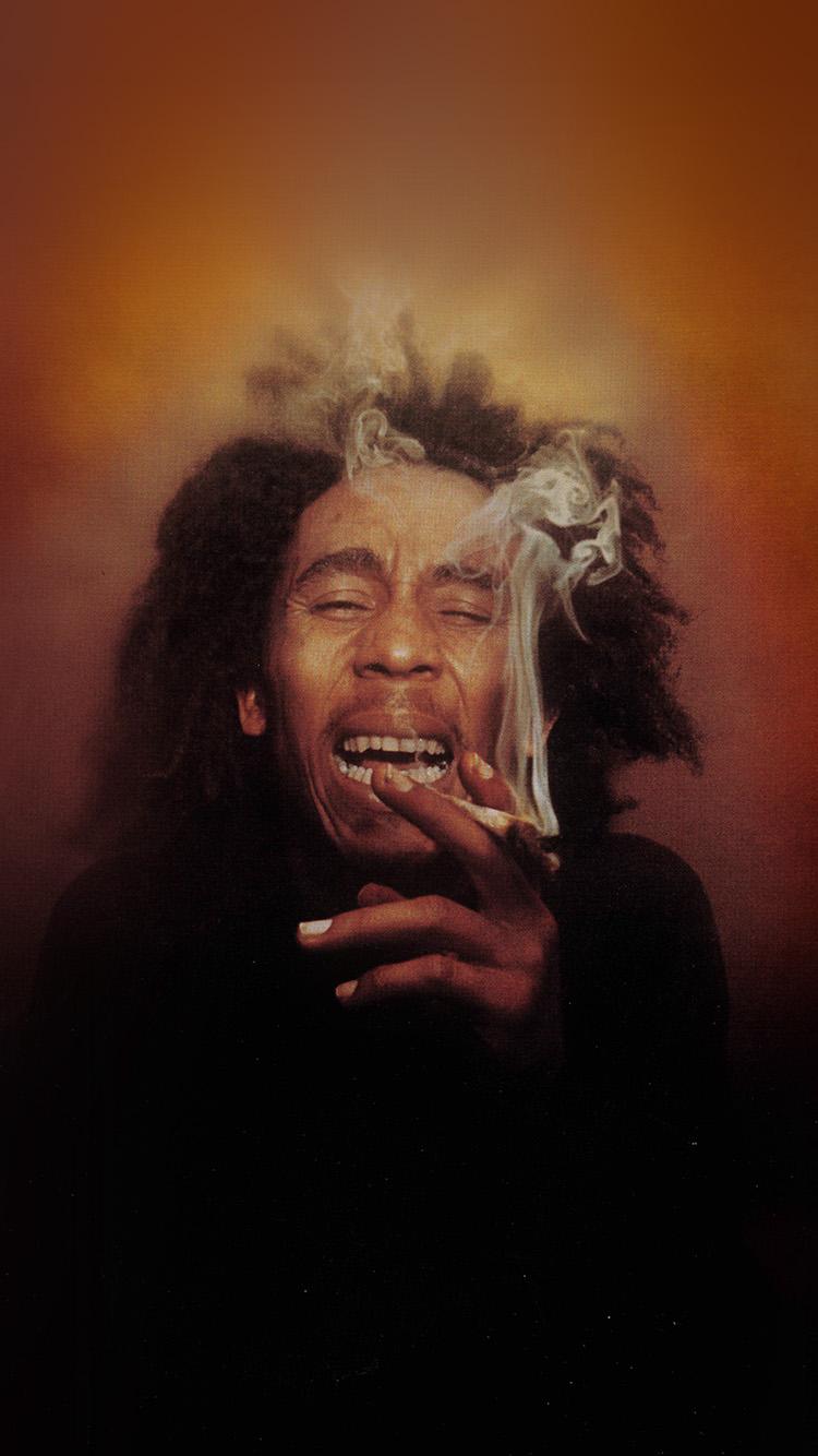Weed Wallpaper Iphone Hg87 Bob Marley Song Smoke Music