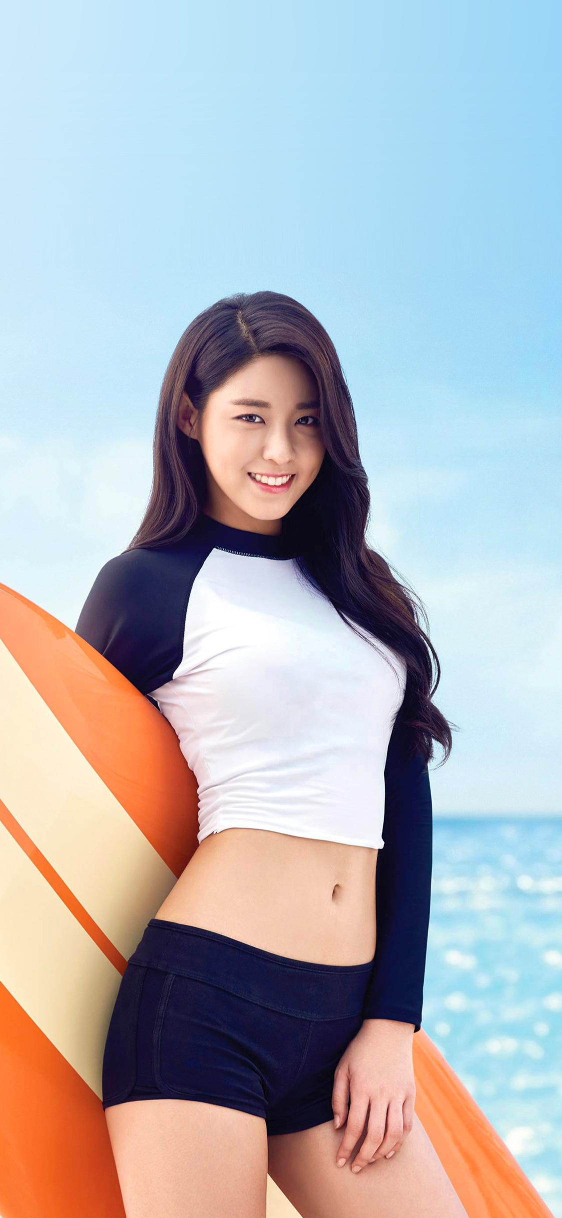 Car Wallpaper For Android Hh34 Seolhyun Aoa Kpop Sea Sumner Cute Swimsuit Papers Co