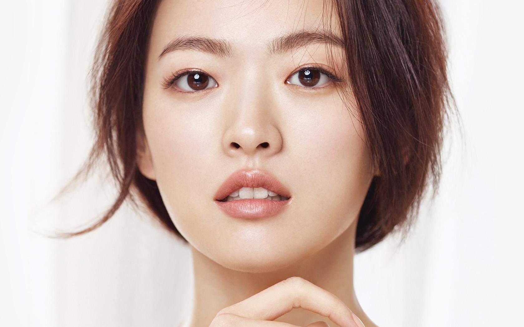 4k Fall Painting Wallpapers Hi49 Kpop Asian Girl Face Beauty Wallpaper