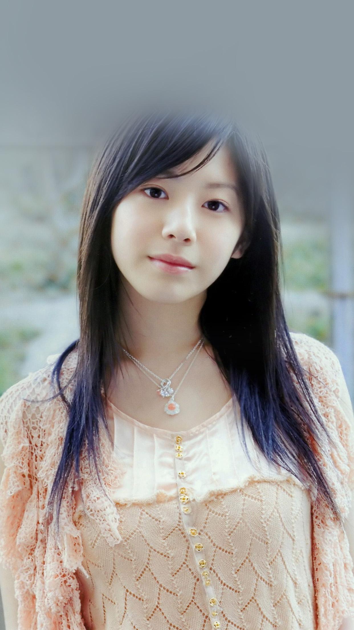 Anime Girl Wallpapers Phone Hj07 Kaho Japanese Girl Actress Wallpaper