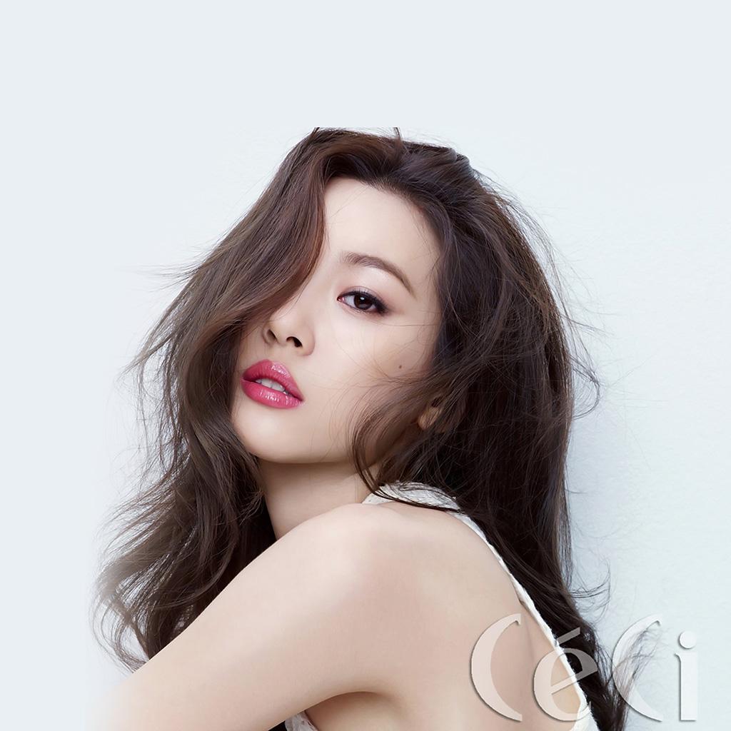 Imac Girl Wallpaper Hk20 Kpop Jyp Girl White Asian Sunmi Wallpaper