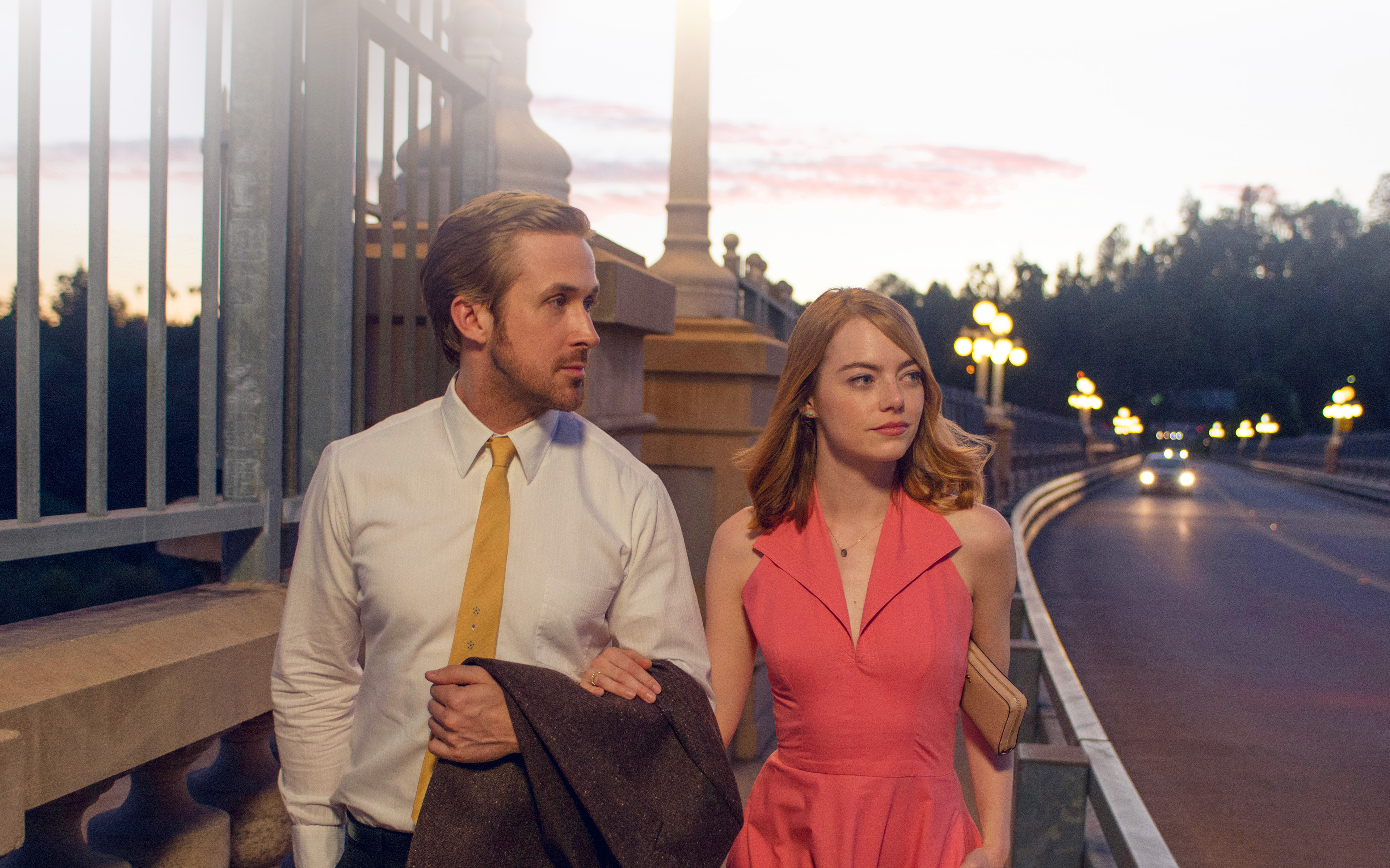 Cute Fall Iphone Wallpapers Hl40 Lalaland Ryan Gosling Emma Stone Red Film Wallpaper