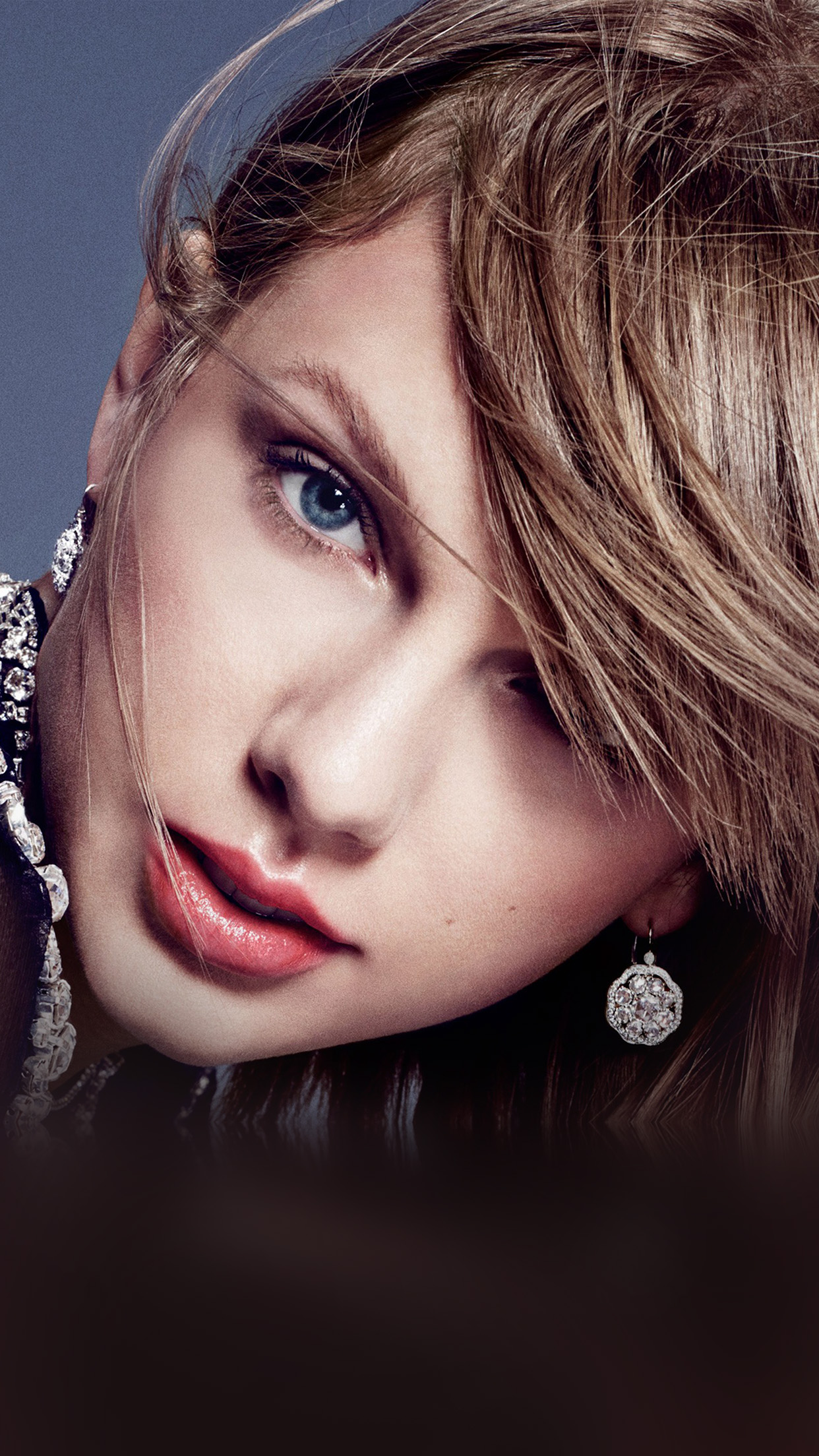 Car Wallpapers Iphone 6 Plus Hm02 Taylor Swift Face Sexy Music Wallpaper