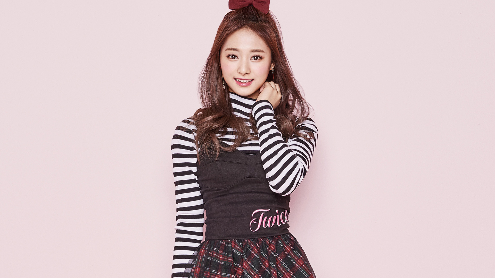 Cute Fall Computer Wallpaper Hm34 Twice Kpop Tzuyu Pink Cute Wallpaper
