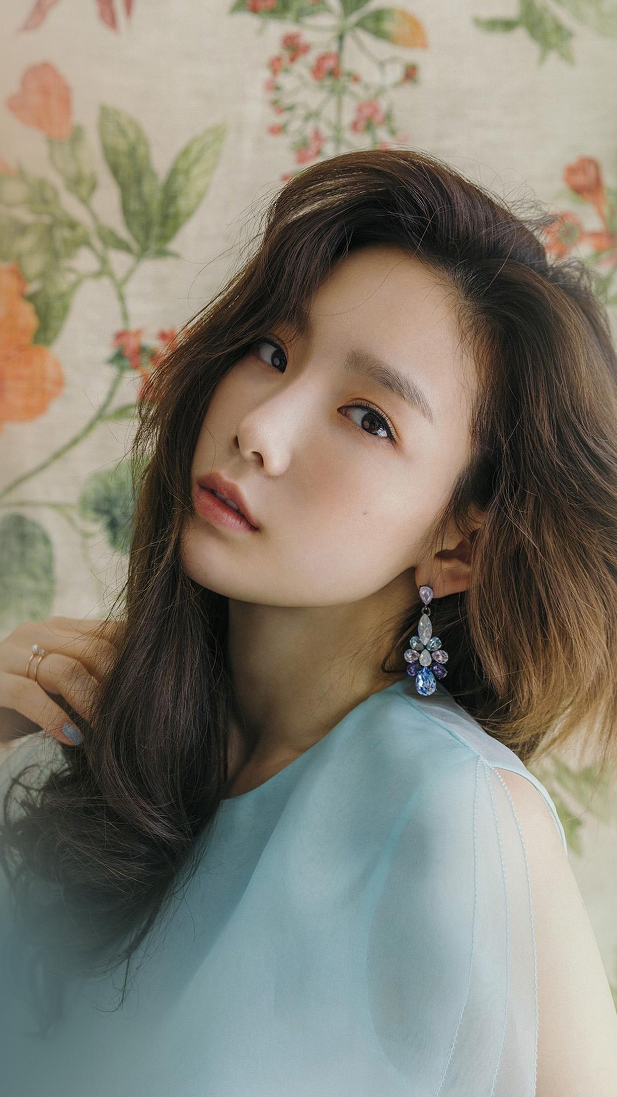 Victoria Secret Wallpaper Iphone 5 Hm37 Kpop Snsd Taeyeon Flower Girl