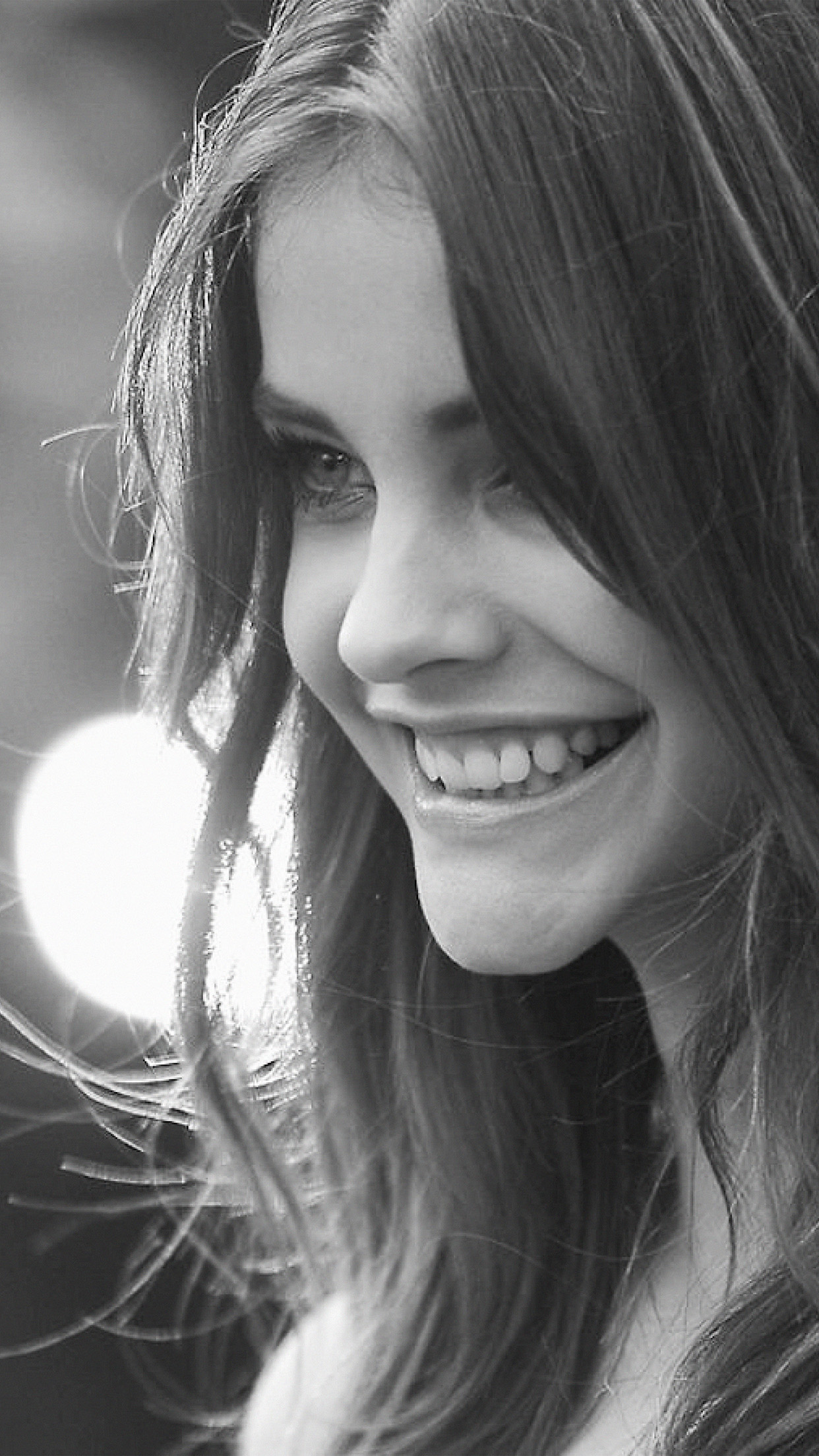 Cute Small Girl Hd Wallpaper Hn39 Barbara Palvin Dark Bw Girl Beauty Model Wallpaper