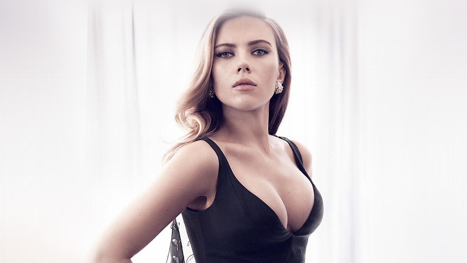 Fall Wallpaper Ipad Ho52 Scarlett Johansson Girl Film Sexy Hero Wallpaper