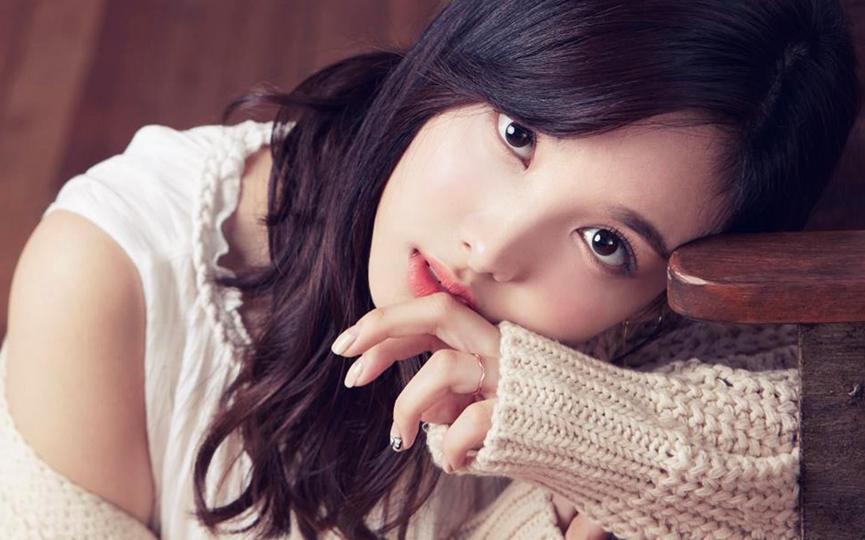 Cute Chinese Girl Desktop Wallpaper Hp22 Kpop Asian Girl Wallpaper