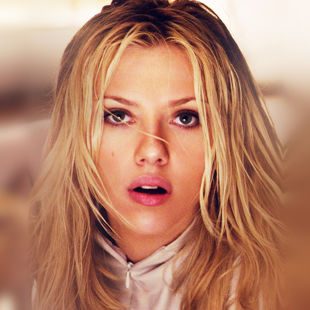 Pattern Iphone 5 Wallpaper Hp27 Girl Scarlett Johansson Actress Face Film Wallpaper