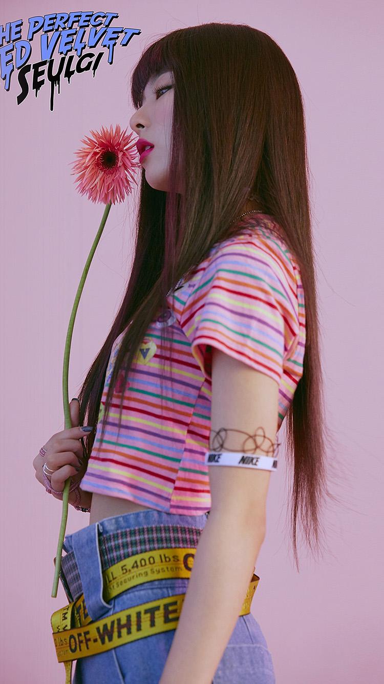 Imac Girl Wallpaper Hp38 Redvelvet Asian Kpop Seulgi Girl Wallpaper