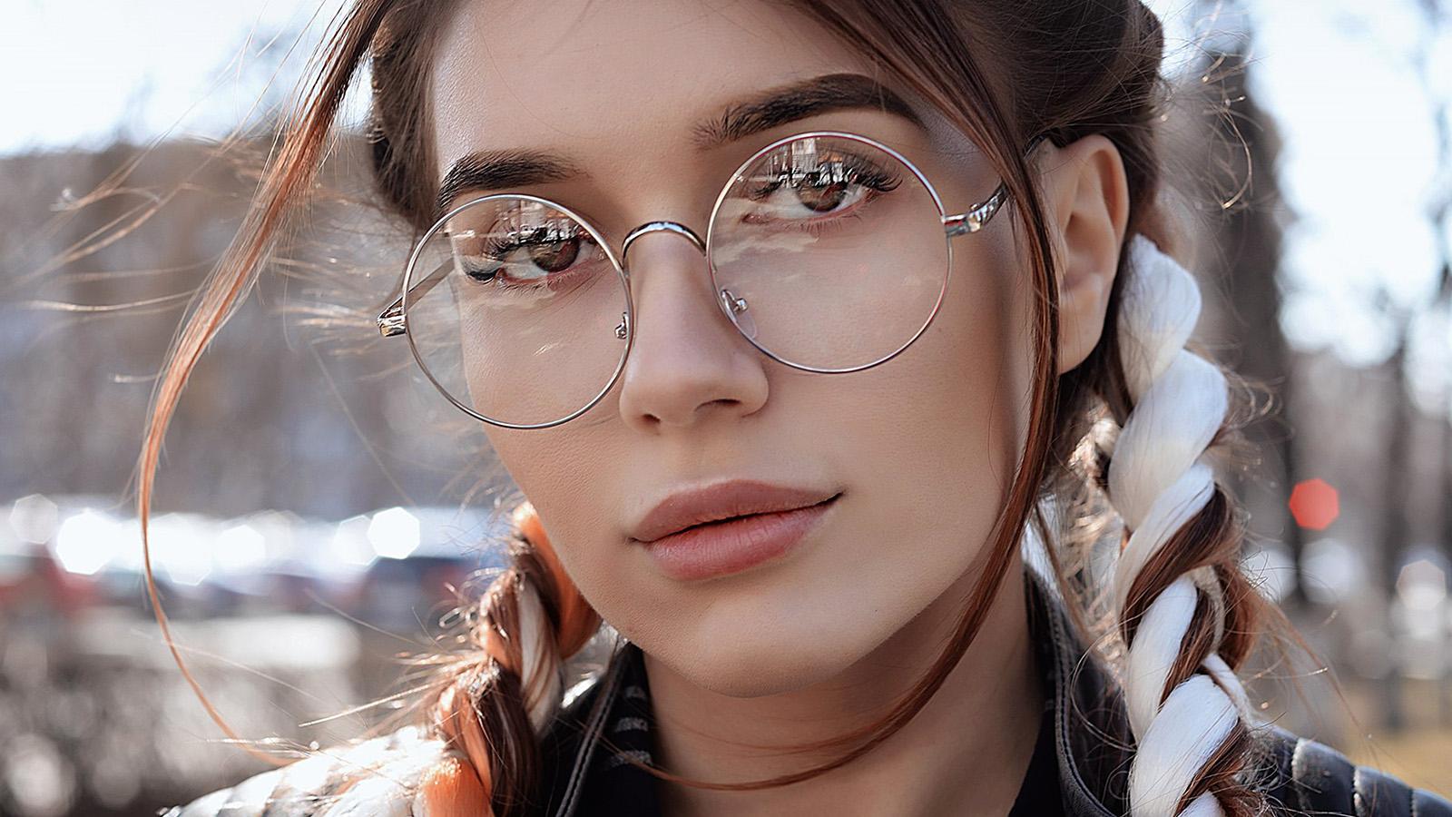 Cute Girl Glasses Wallpaper Hp49 Dua Lipa Girl Glasses Wallpaper