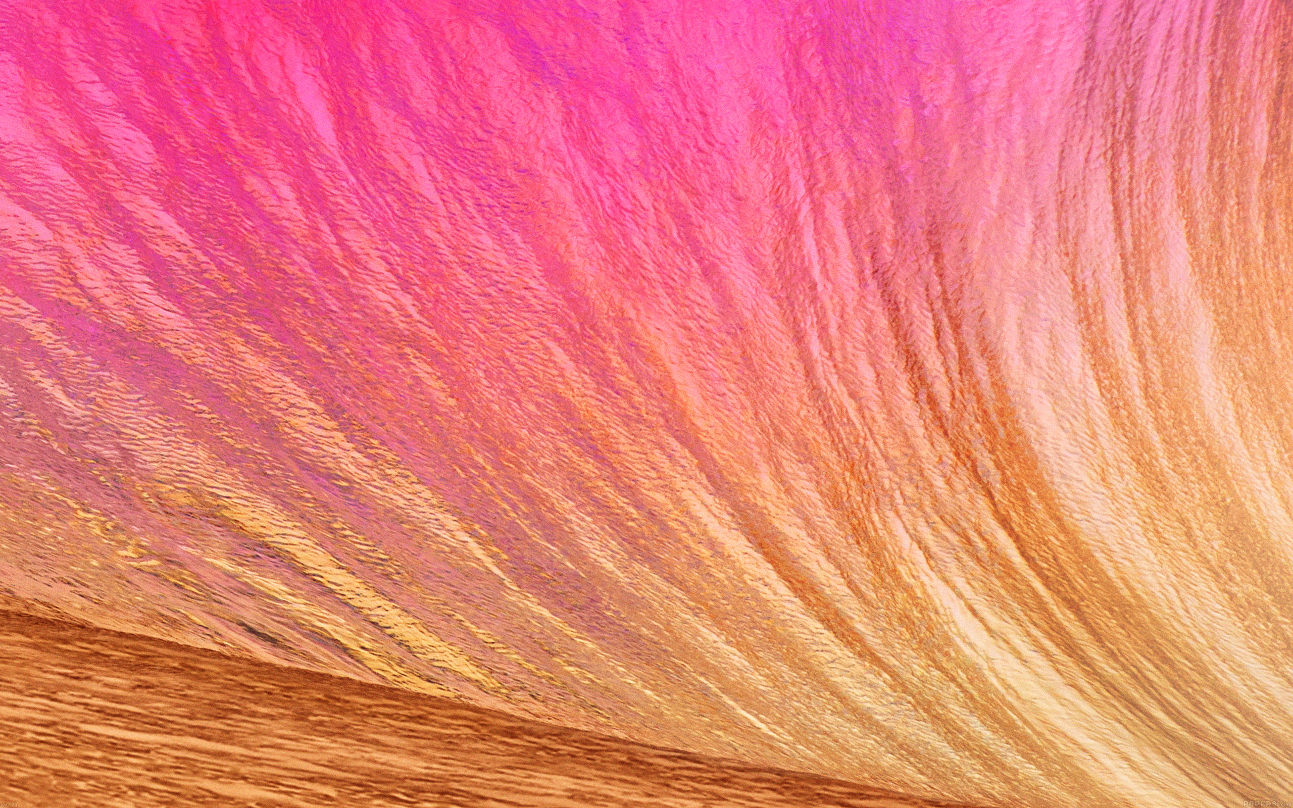 Pink Flower Iphone Wallpaper Mc13 Wallpaper Gold Wave Apple Sea Papers Co