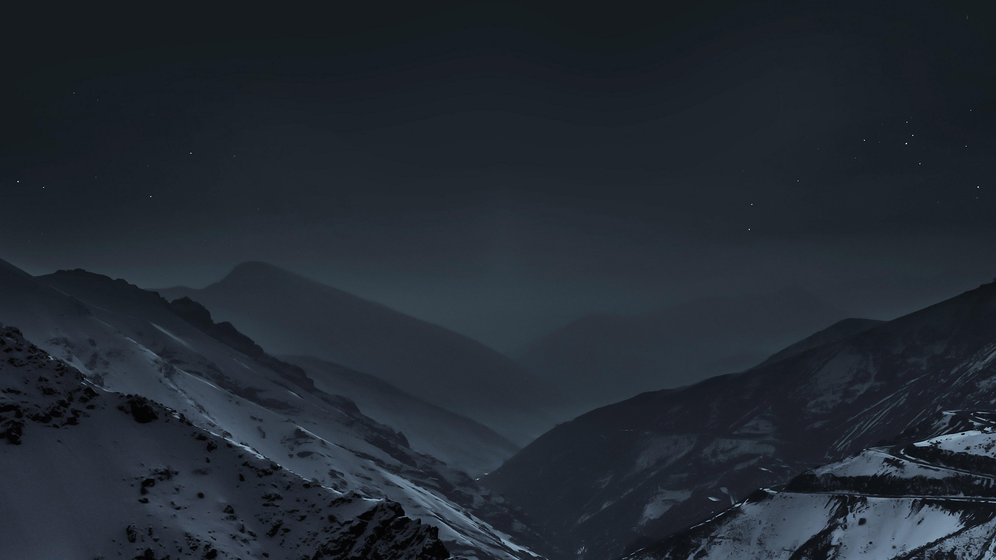 Fall Live Wallpaper Md49 Wallpaper Nature Earth Dark Asleep Mountain Night