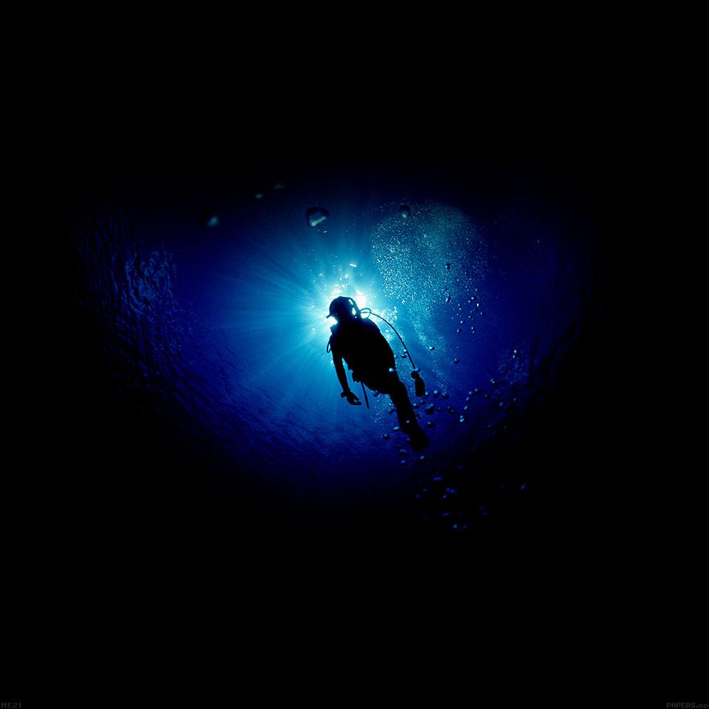 Blackberry Black Wallpaper Me21 Deep Blue Ocean Dive Papers Co
