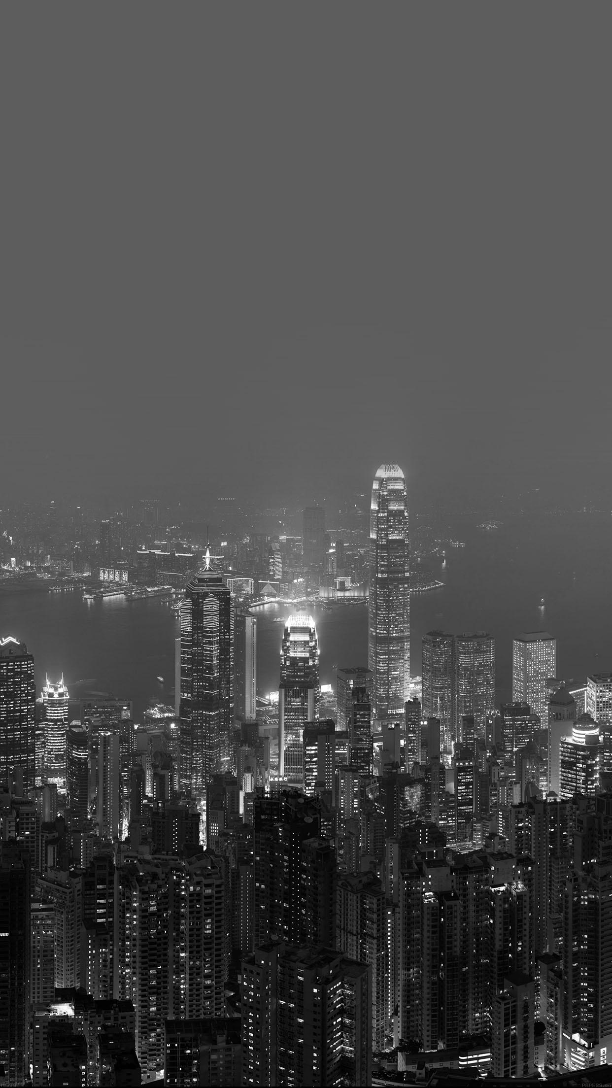 Motorola Logo Full Hd Wallpaper Me98 Skyline Hongkong Dark City Night Live Papers Co