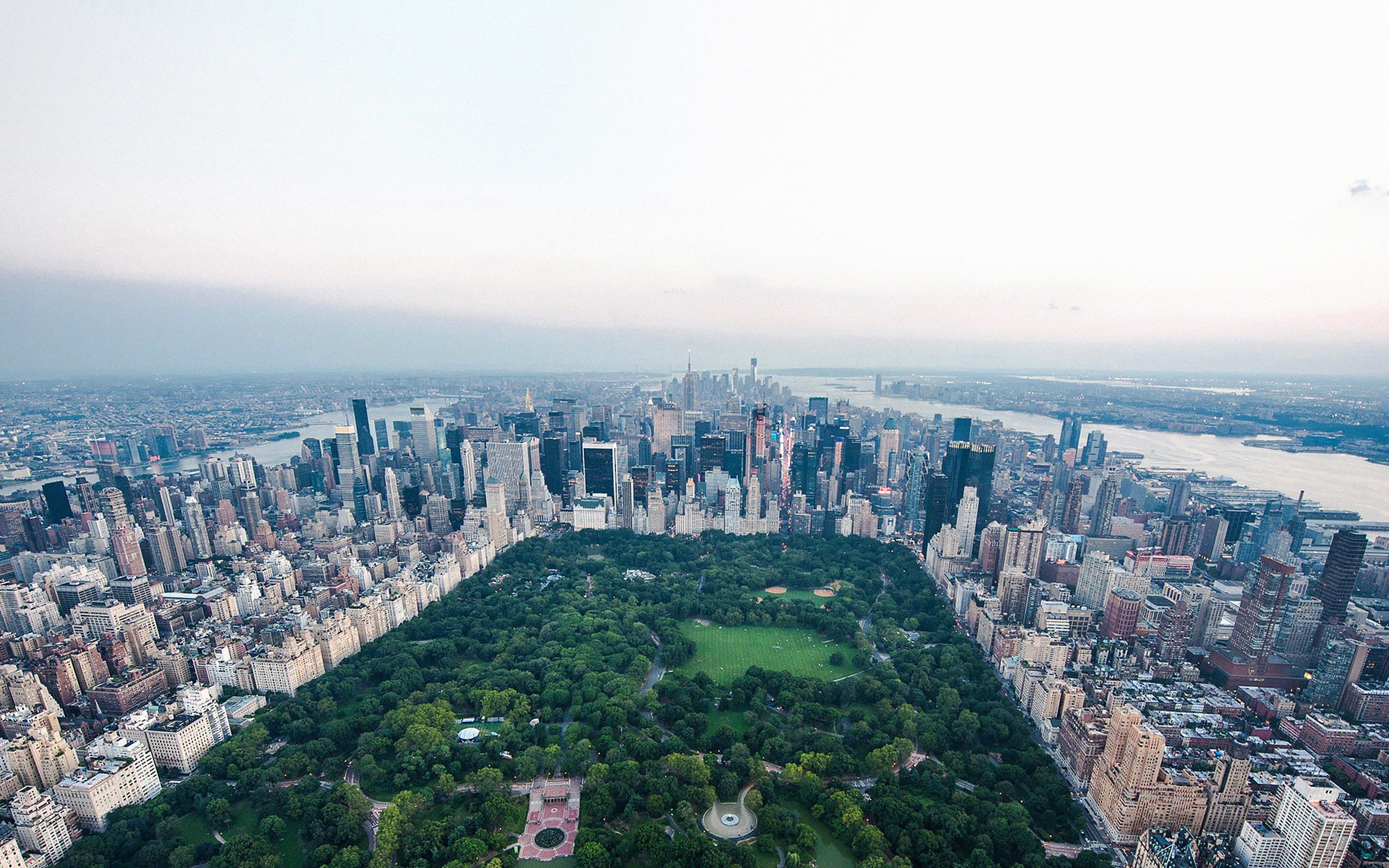 Fall In Central Park Wallpaper Mf82 New York Central Park Skyview Nature City Papers Co