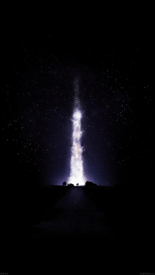 Music Mg Wallpaper Hd Freeios7 Mg45 Interstellar Dark Space Night Stars Fire