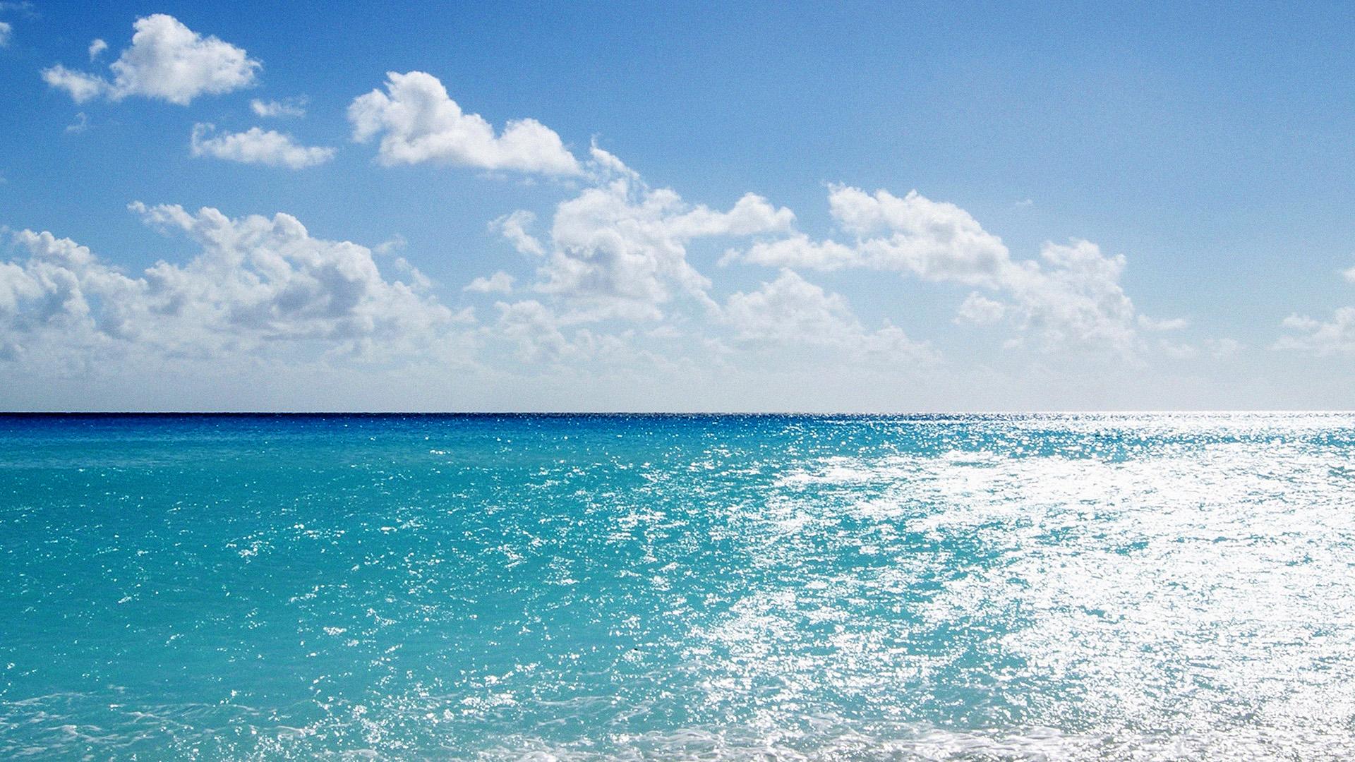 Beautiful Fall Wallpapers For Desktop Mj67 Sea Water Ocean Sky Sunny Nature Papers Co
