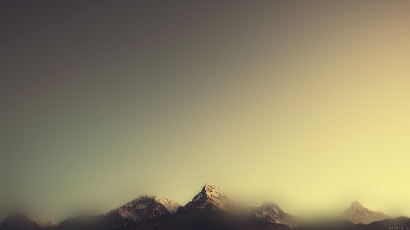 Minimalist Iphone X Wallpaper Ml07 Mountain Blur Minimal Nature Papers Co