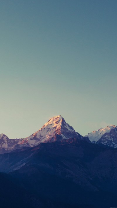 PAPERS.co | iPhone wallpaper | ml64-mountain-blue-high-sky-nature-rocky