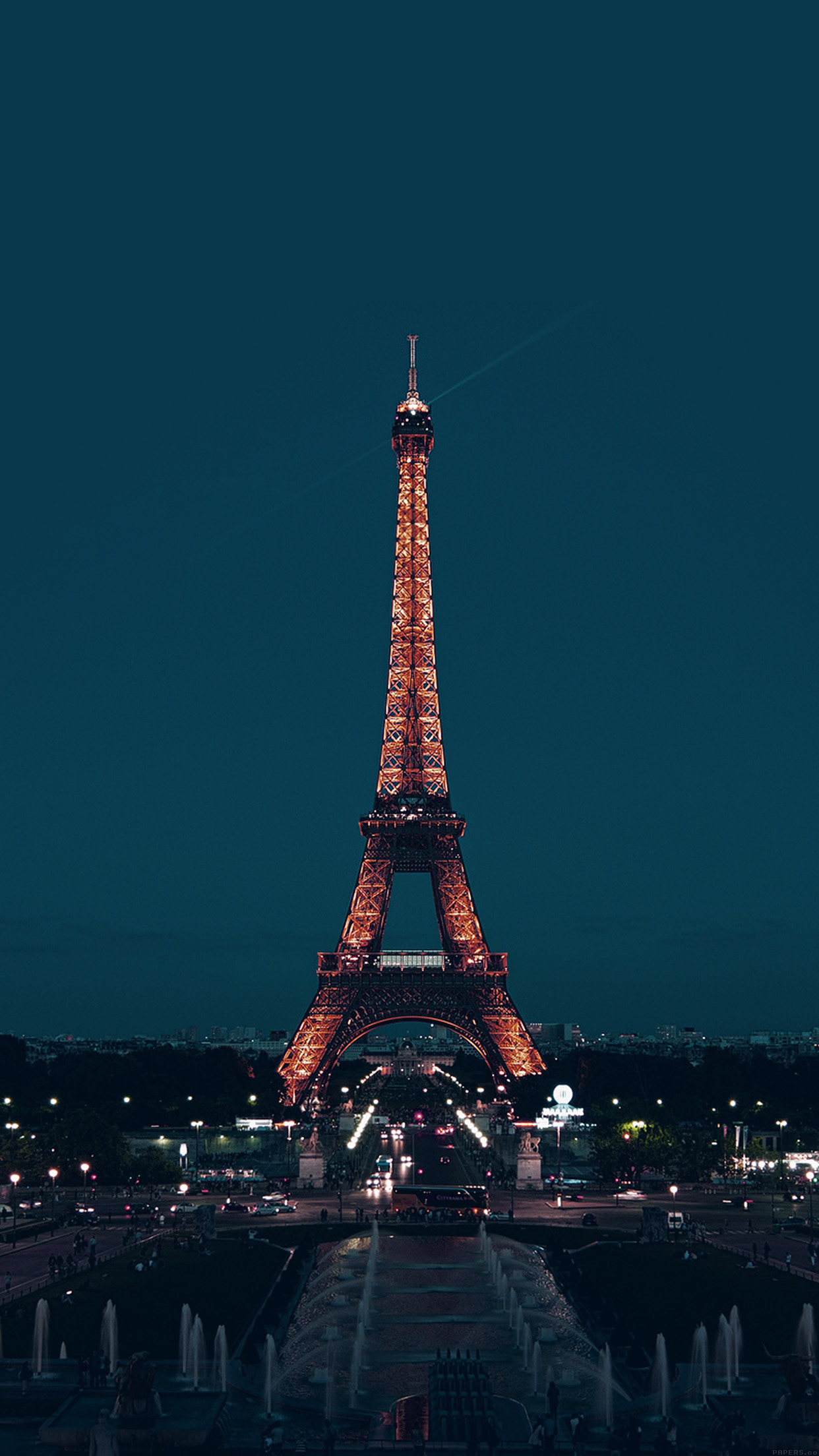 Cute Paris Iphone Wallpaper Ml78 Paris Night France City Blue Eiffel Tower Wallpaper