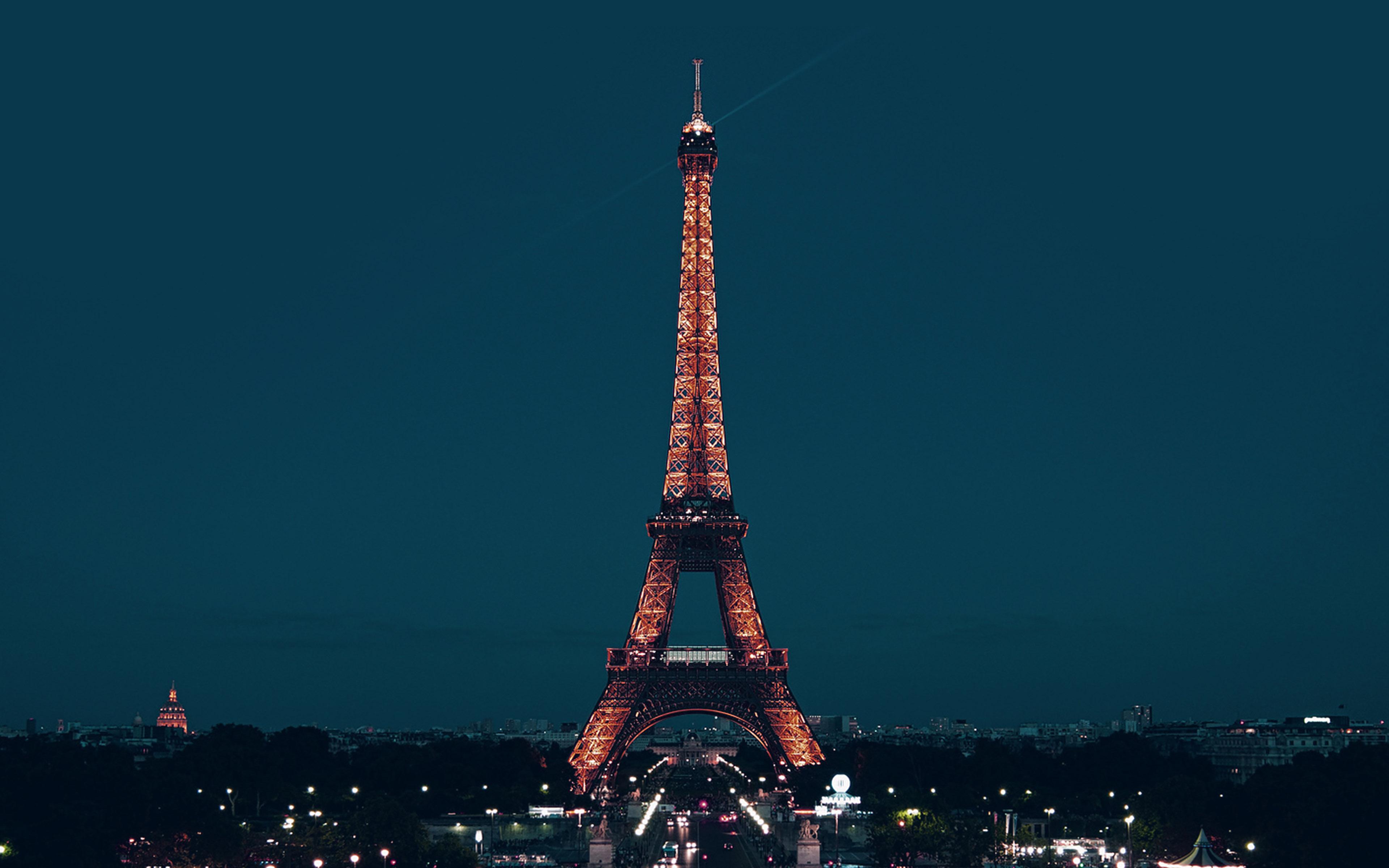 Paris Wallpaper Cute Blue Ml78 Paris Night France City Blue Eiffel Tower Wallpaper
