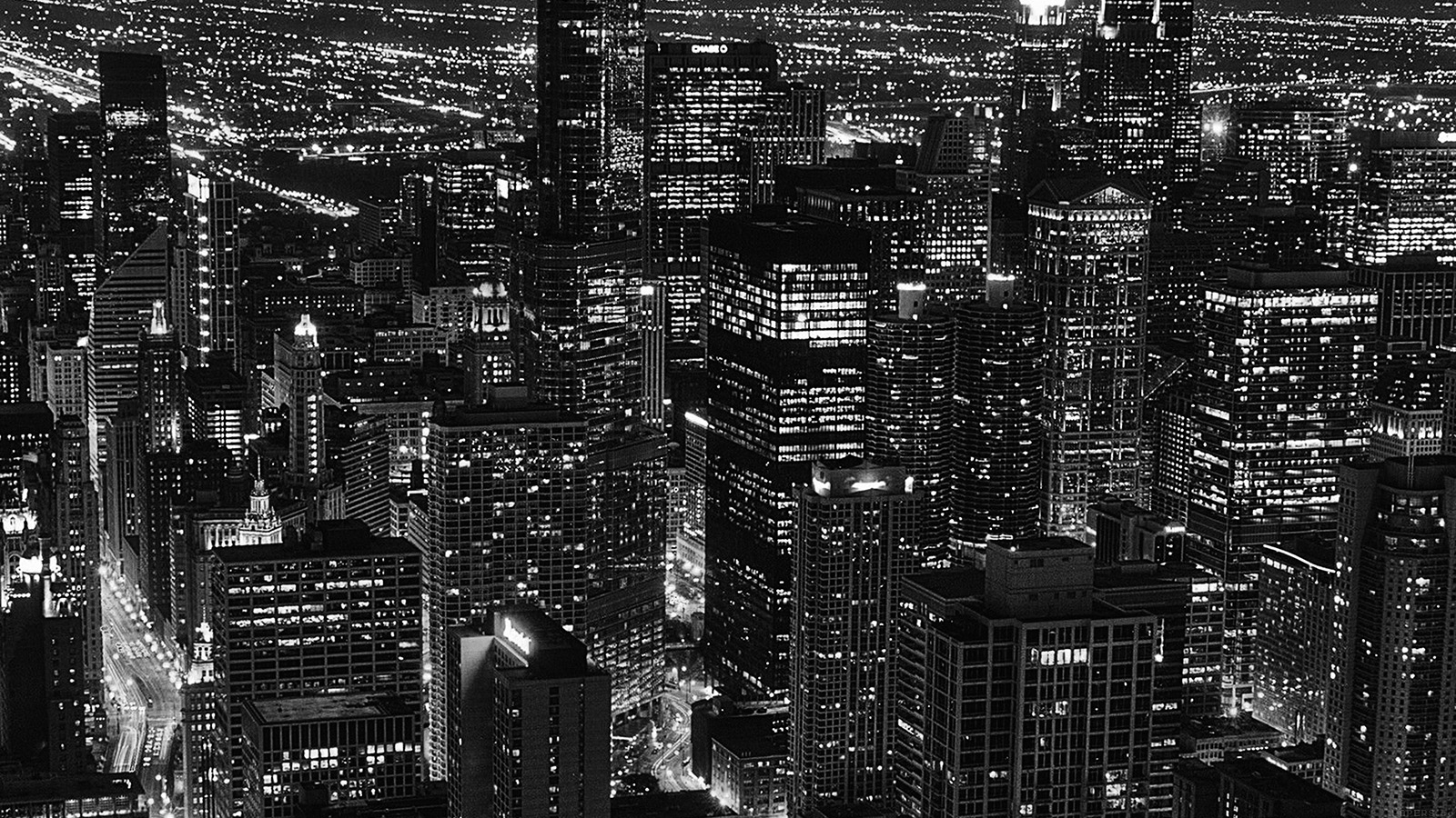 Cute Cartoon Hd Wallpapers For Android Ml84 City View Night Dark Bw Wallpaper